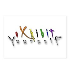 Exhibit Yourself 2 Postcards (Package of 8)
