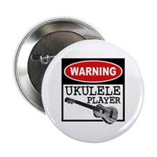 Warning Ukulele Player Button