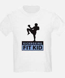Kickboxing Fit Kid Kids T-Shirt