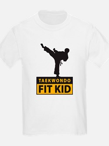Tae Kwon Do Fit Kid Kids T-Shirt