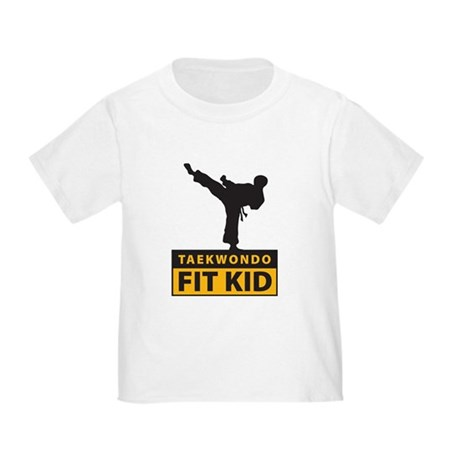 Tae Kwon Do Fit Kid Toddler T-Shirt