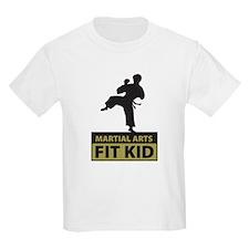 Martial Arts Fit Kid Kids T-Shirt