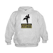 Martial Arts Fit Kid Hoodie