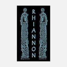 Rhiannon Rectangle Sticker 2