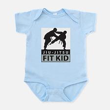Ju-Jitsu Fit Kid Infant Creeper