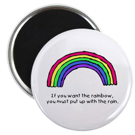 Put up with the rain Magnet