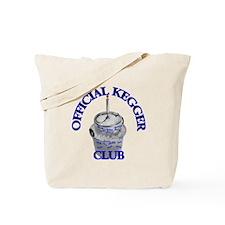Kegger club Tote Bag
