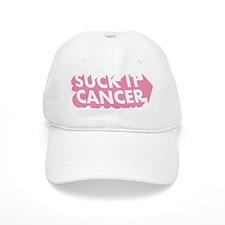 Suck It Cancer - Pink Baseball Cap