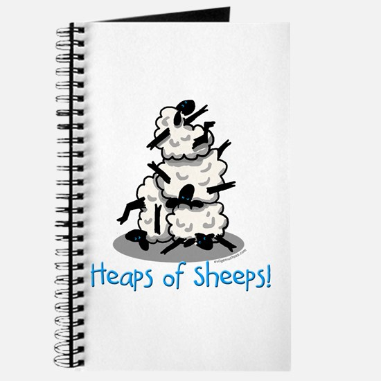 Heaps of sheeps farmer Journal
