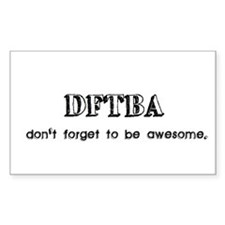 DFTBA Decal
