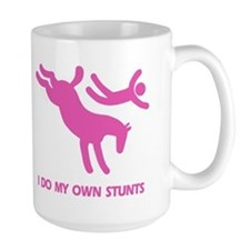 Pink Bucking Horse 'Stunts' Mug