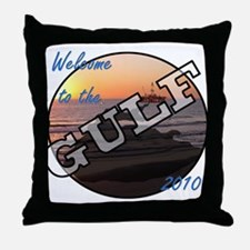 Oil Spil Throw Pillow