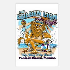 Golden Lion Postcards (Package of 8)