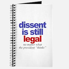 Dissent is still legal Journal
