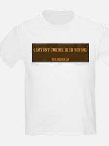 2-GroVont High School Bumper Sticker T-Shirt