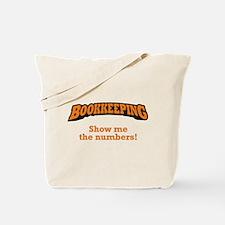 Bookkeeping / Numbers Tote Bag