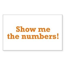 Show me the numbers! Decal