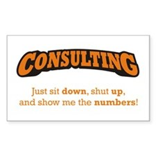 Consulting-Numbers Decal