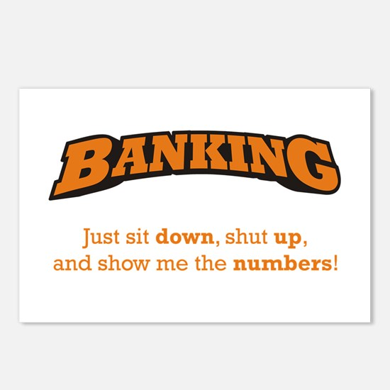 Banking-Numbers Postcards (Package of 8)