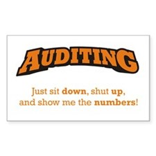 Auditing-Numbers Decal
