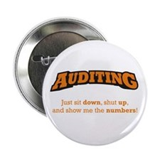 """Auditing-Numbers 2.25"""" Button (10 pack)"""