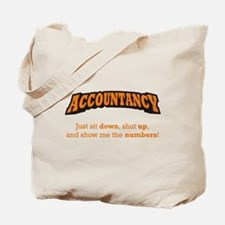 Accountancy-Numbers Tote Bag