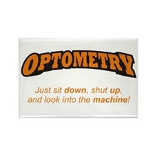 Optometry / Machine Rectangle Magnet (100 pack)