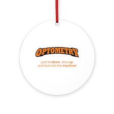 Optometry / Machine Ornament (Round)