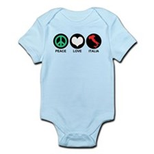 Peace Love Italia Infant Bodysuit