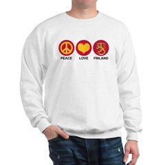Peace Love Finland Sweatshirt