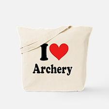 I Heart Archery: Tote Bag