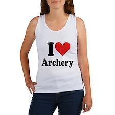 I Heart Archery: Women's Tank Top
