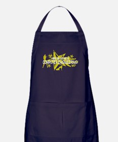 I ROCK THE S#%! - COMP ENG Apron (dark)