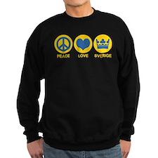 Peace Love Sverige Sweatshirt