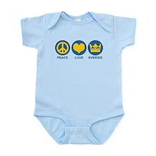 Peace Love Sverige Infant Bodysuit