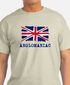 Anglomaniac with Union Jack T-Shirt
