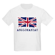 Anglomaniac with Union Jack T-Shirt