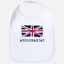 Anglomaniac with Union Jack Bib
