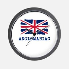 Anglomaniac with Union Jack Wall Clock