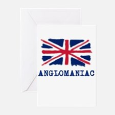 Anglomaniac with Union Jack Greeting Cards (Packag