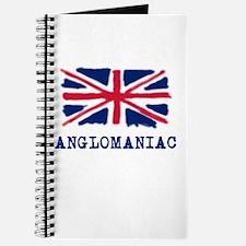 Anglomaniac with Union Jack Journal