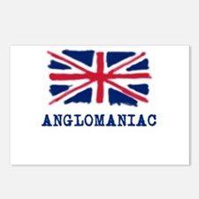 Anglomaniac with Union Jack Postcards (Package of