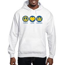 Peace Love Sweden Hoodie