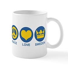 Peace Love Sweden Mug