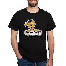 Puppy Adept, Inc. Black T-Shirt