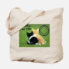 TOGETHER WE CAN CATS Tote Bag