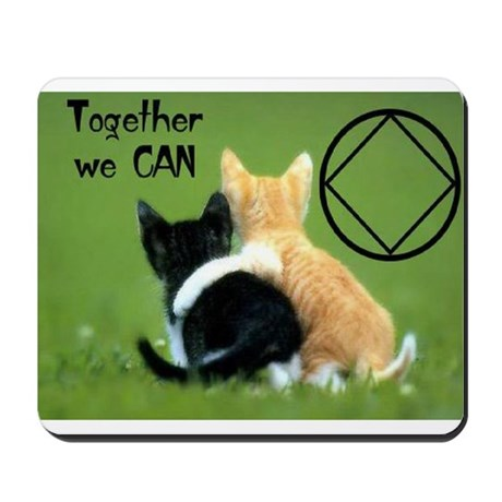TOGETHER WE CAN CATS Mousepad