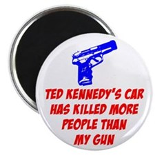 "Ted Kennedy's Car 2.25"" Magnet (100 pack)"