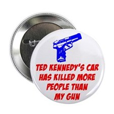 """Ted Kennedy's Car 2.25"""" Button (100 pack)"""