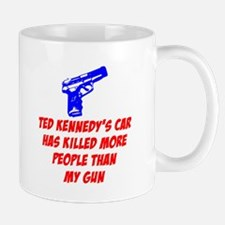 Ted Kennedy's Car Small Small Mug
